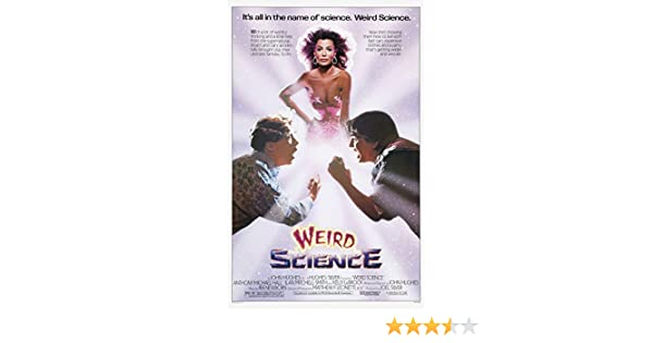 Weird Science Movie Poster 24x36