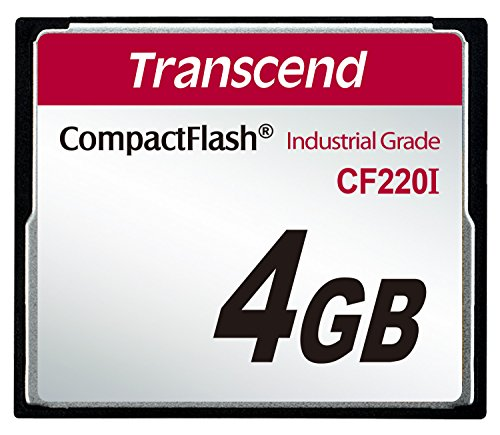 Transcend 4GB CF 4GB CompactFlash Memory Card
