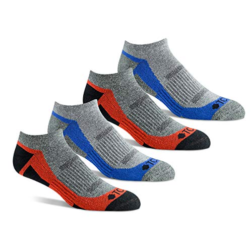 JavaSole Anti-Odor, Eco-friendly Performance Athletic Ankle Socks, for Running and Sports