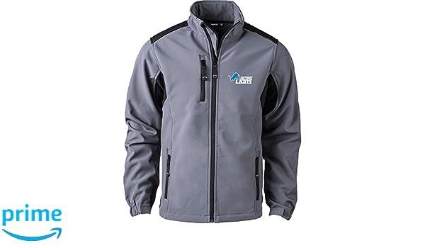 8863a04e9 Amazon.com   Dunbrooke Apparel NFL Detroit Lions Men s Softshell Jacket