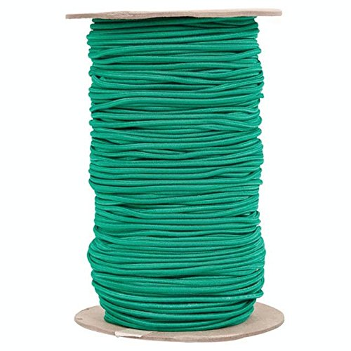 Shock Cord Size: 0.19'' x 500 Feet, Color: Green by Liberty Mountain