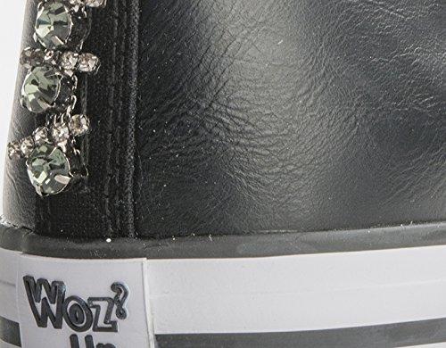 Nero itE Scarpe ne Donna 01Amazon Woz Borse Wozup49 TcF13KJl