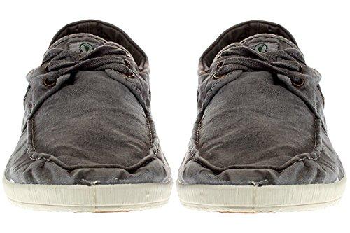 Natural Gris ENZIMATICO ecologico Zapato World NAUTICO wnq8HYOtxa