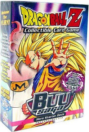 Dragonball Z Score Trading Card Game Buu Saga Hero Starter Deck