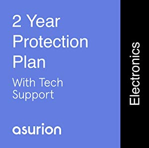 ASURION 2 Year Electronics Protection Plan with Tech Support $100-124.99