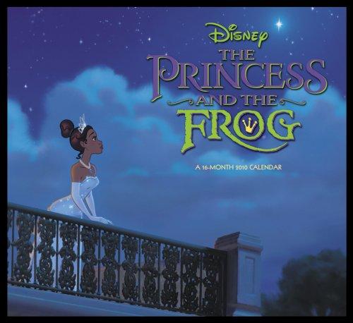 (Disney's The Princess and the Frog 2010 Wall Calendar )