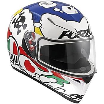 AGV K3 SV Adult Comic Street Motorcycle Helmet - Multi/Medium/Large