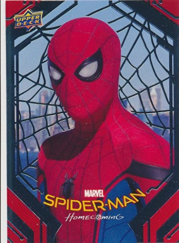 2017 Upper Deck Spider-Man Homecoming Trading Cards Complete Master Base Silver Foils & Inserts