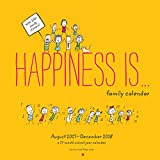 Happiness Is... 2017-2018 Family Calendar: 17 Month