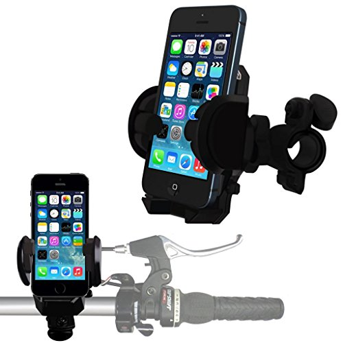N4U Online - Apple Iphone 5 Bicyclette vélo support Support Stand berceau guidon Support Rotation de 360 degrés