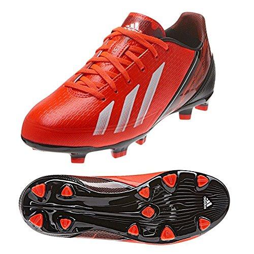 adidas F30TRX FG–Botas de Fútbol de Terreno Firme Boy s Rojo q33895