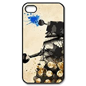 Doctor Who Sonic Screwdriver(3) iPhone 4S 4 Case Art Print Personalized Custom Hard Plastic Back Protective Case for iPhone 4/4S WANGJING JINDA