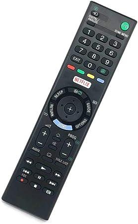 Mando a Distancia Compatible con Sony KDL-32WD756 RMT-TX102D 1-492-965-11 KDL-32RE403BU KDL-43WD750D KD-43X8301C KDL-48R555C KDL-32R40XC KDL-48W650D KDL-55W650D Bravia Full HD Smart TV LED: Amazon.es: Electrónica