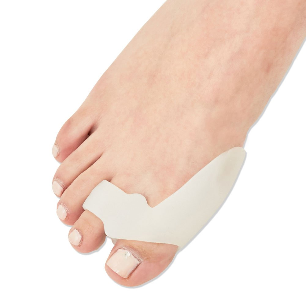 [Medi&Story] Silicone Bunion Corrector&Relief Protector-Treat Pain in Hallux Valgus, Tailors Bunion, Big Toe Joint, Hammer Toe, Toe Separators Spacers Straighteners splint Aid surgery treatment Type_B