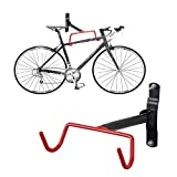 FIVE FLOWER Bike Wall Mount Rack Storage Hanger - Garage Bicycle Holder Folding Space Saver