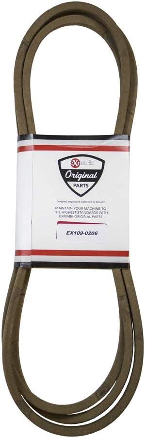 Exmark 109-0206 Deck Belt Lazer Z HP 50 Inch Deck