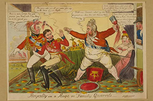 ClassicPix Photo Print 11x17: Royalty in A Rage Or Family Quarrels, 1820