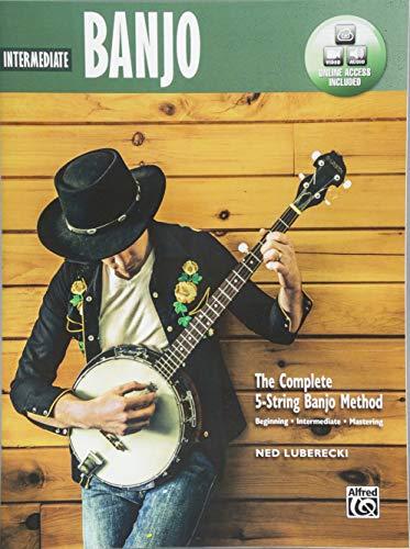 Complete 5-String Banjo Method: Intermediate Banjo, Book & Online Audio & Video (Complete Method) ()