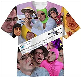 d926371ea Amazon.com: Print All Over Me Filthy Frank Collage T Shirt (0697038859177):  Books