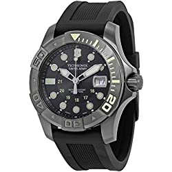 Victorinox Swiss Army Men's 241426 Dive Master 500 Black Ice Black Dial Watch