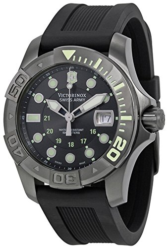 Victorinox Swiss Army Men's 241426 Dive Master 500 Black Ice Black Dial Watch