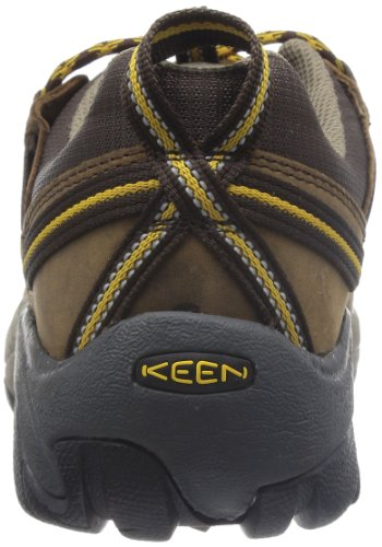 KEEN Mens Targhee II Hiking Shoe,Cascade Brown/Golden Yellow,17 M US