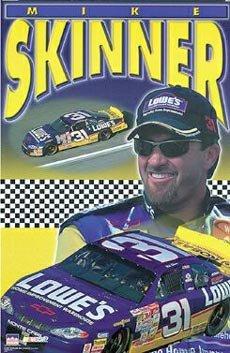 (23 x 35) Mike Skinner Nascar poster ()