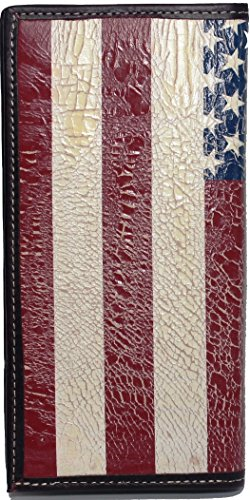 Long American to Custom United be Flag States Flag Wallet Distressed Proud American with qSYwUatw
