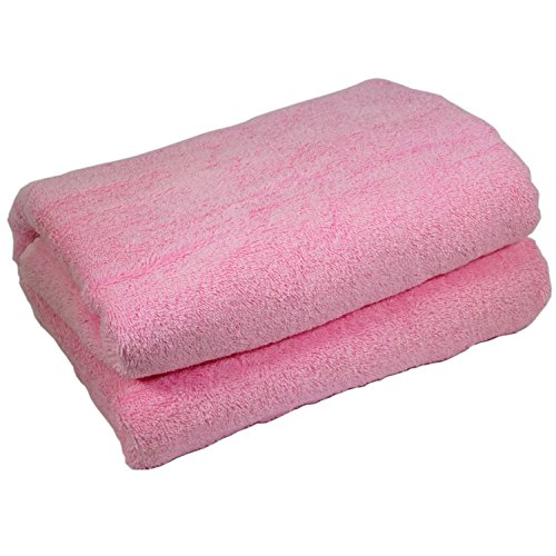 Home & Lounge Bath Towel Sheets - Extra Large 100% Turkish Cotton Spa and Hotel Towel - 35 Inch by 60 Inch - Luxury Soft and Comfortable Sheet - Machine Washable (Light Pink) (Beds Outdoor For Sale Cabana)