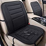 Mictuning SMART WARM X2 model 12v Heated Seat Cushion Cover Pad Universal Black