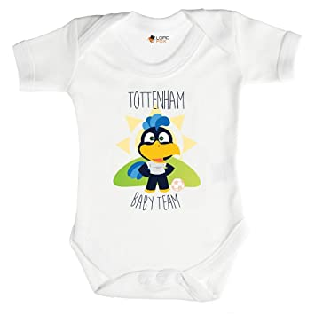127c0f6b9 3-6 Months Babygrow Tottenham Baby Football Team Spurs Babygrow Baby ...