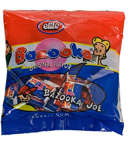 Bazooka Bubble Gum Bag Original 30 pieces -