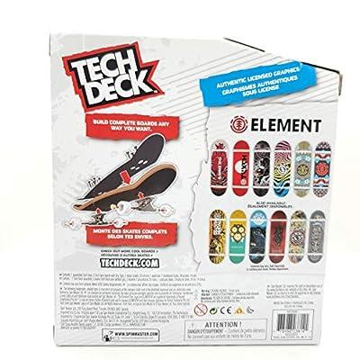 Finger Board Tech Deck SK8shop Bonus Pack World Edition Limited Series - Element Skateboarding Decks: Sports & Outdoors