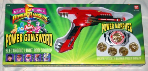 Power Rangers Power Morpher and Power Gun/sword