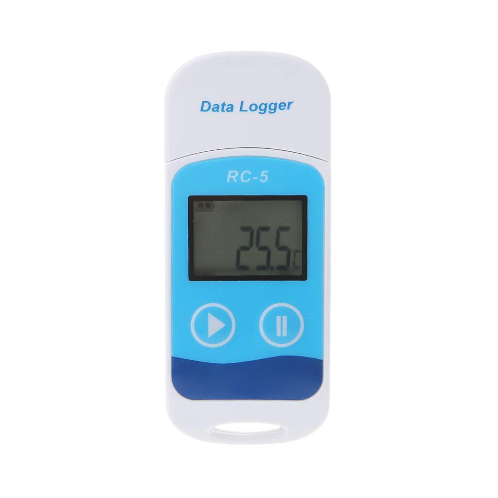 sensor digital de term/ómetro Nysunshine Mini RC-5 Term/ómetro registrador de datos de temperatura grabador de temperatura USB