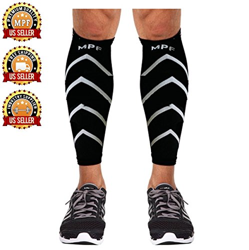 Calf Compression Sleeves Footless Breathable