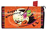 Briarwood Lane Flying Witch Halloween Magnetic Mailbox Cover Full Moon Standard