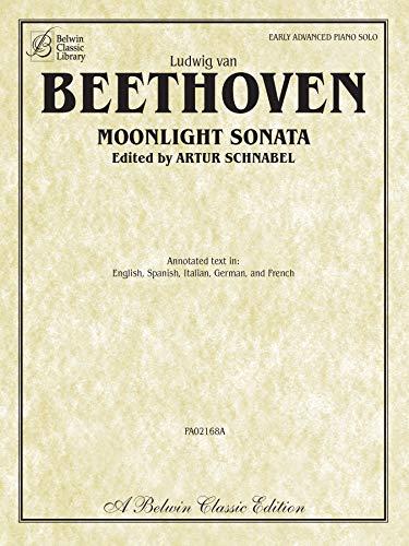 Moonlight Sonata (Sonata No. 14 in C-sharp Minor, Op. 27, No. 2) (Belwin Classic Library) (Sheet Sonata Moonlight Music)