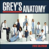 Grey's Anatomy 2010 Wall Calendar Size 12' X 12'