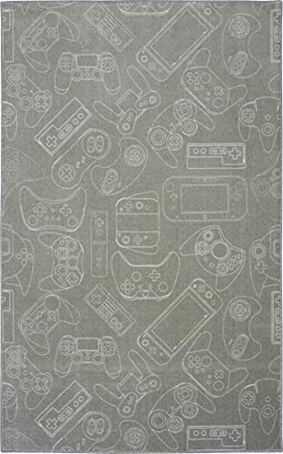 Mohawk Home Z0328 A431 040060 EC in in Control Gray Area Rug, 3' 4