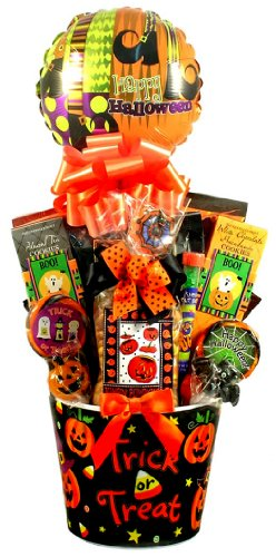 Halloween Sweets & Treats Gift Basket