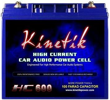 Kinetik HC600 Black Lead/_Acid/_Battery