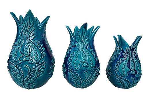 Bead Global Turkish Tulip Design Handmade Vases for for sale  Delivered anywhere in USA