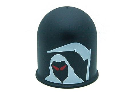 Böser Blick 3 gelb Schutzkappe Anhängerkupplung Dämon Teufel Evil Eye Cap 3