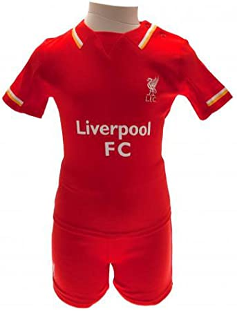 Official Liverpool FC bebé camisa y corto Set (3 – 6 meses ...