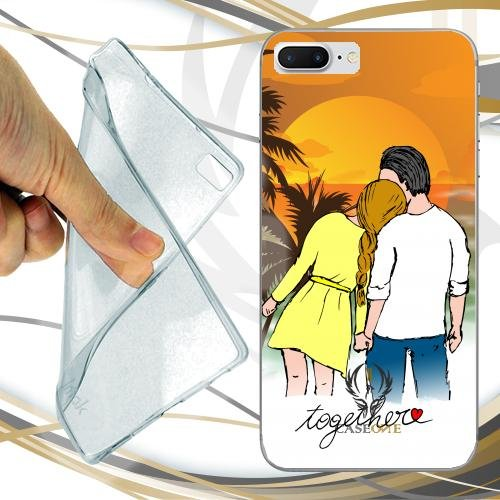 CUSTODIA COVER CASE CASEONE INSIEME AMORE PER IPHONE 7 PLUS