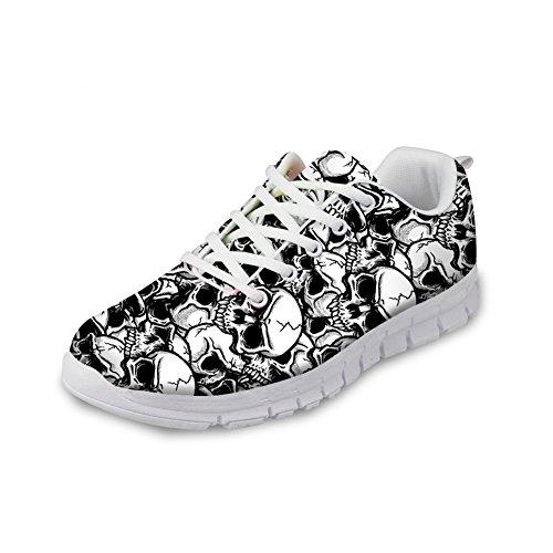 Bigcardesigns Liket Sneaker Komfortable Pustende Walking Løpesko 43