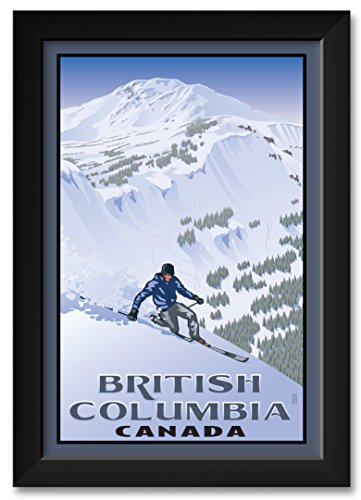 (British Columbia Canada Framed Art Print by Paul Leighton. Print Size: 12