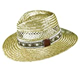 Dorfman Pacific Golf- Rush Straw Safari Hat with Golf Band