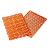 HiLetgo 20pcs Solder Finished Prototype PCB for DIY 5x7cm Circuit Board Breadboard
